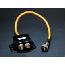 Atlas Junction Box 2 RCA — 5 pin DIN