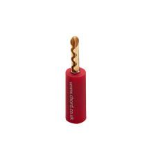 CHORD Banana Plug Screw Type Red