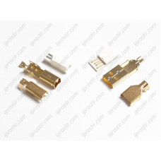 Neotech USB A-B Set Gold