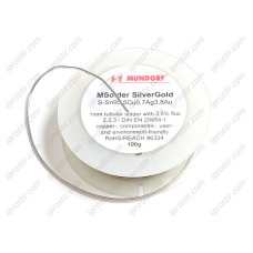 Mundorf Soldering Tin MSOLDER Silver/Gold