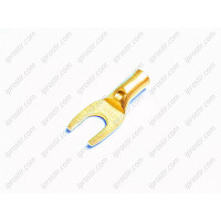 Straight Wire Spade Gold