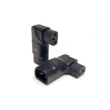 VooDoo Cable IEC 15A Right-Angle Horizontal Adapter