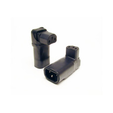 VooDoo Cable IEC 15A Right-Angle Vertical Adapter
