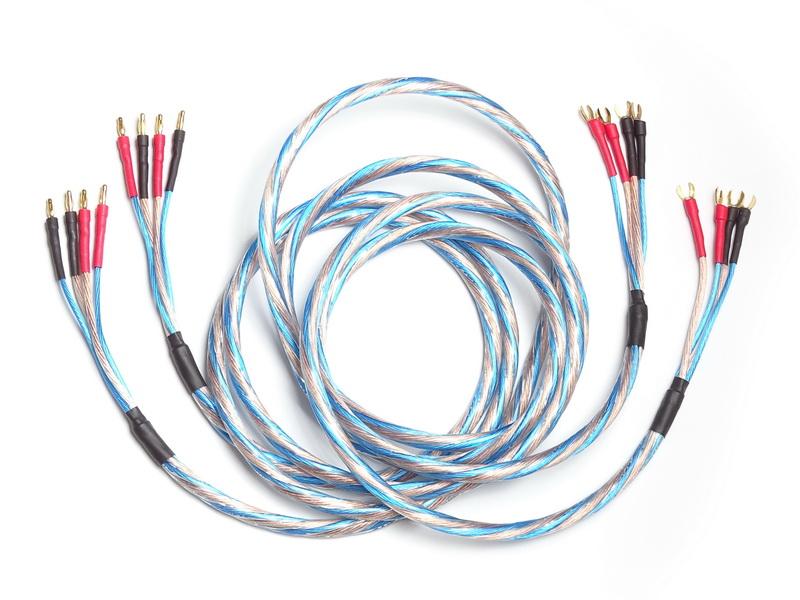 Купить акустический кабель Oehlbach Bi-Tech 4 M Bi-Wire с бананами и ...