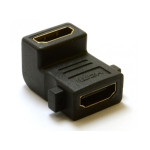 MT-Power HDMI Female to Female Adapter, Right Angle
