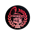 Thorens Felt mat 300mm Red/Black