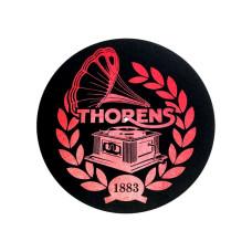 Thorens Felt mat 300mm Red/Black