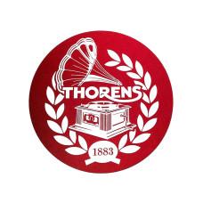 Thorens Felt mat 300mm Red/White