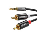 Ugreen AV116 3.5 mm to 2RCA Audio Cable 1.5 m