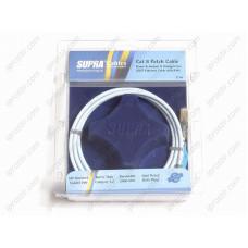 Supra CAT 8 STP PATCH FRHF BLUE 2M