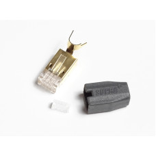 Supra RJ45 CAT 7 MALE ETHERNET PLUG BULK
