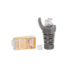 Supra RJ45 CAT 8 MALE ETHERNET PLUG BULK