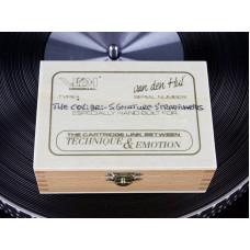 Новый топовый MC-картридж от Van den Hul