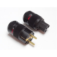 TTAF 93057/93058 Schuko/IEC Gold