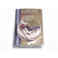 Monster Cable MonsterBass 100 1RCA-1RCA 6.0 m