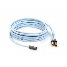 Supra Y-LINK 1RCA-2RCA BLUE 6M