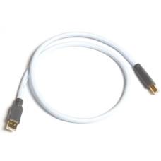 Supra USB 2.0 A-B BLUE 0.7M